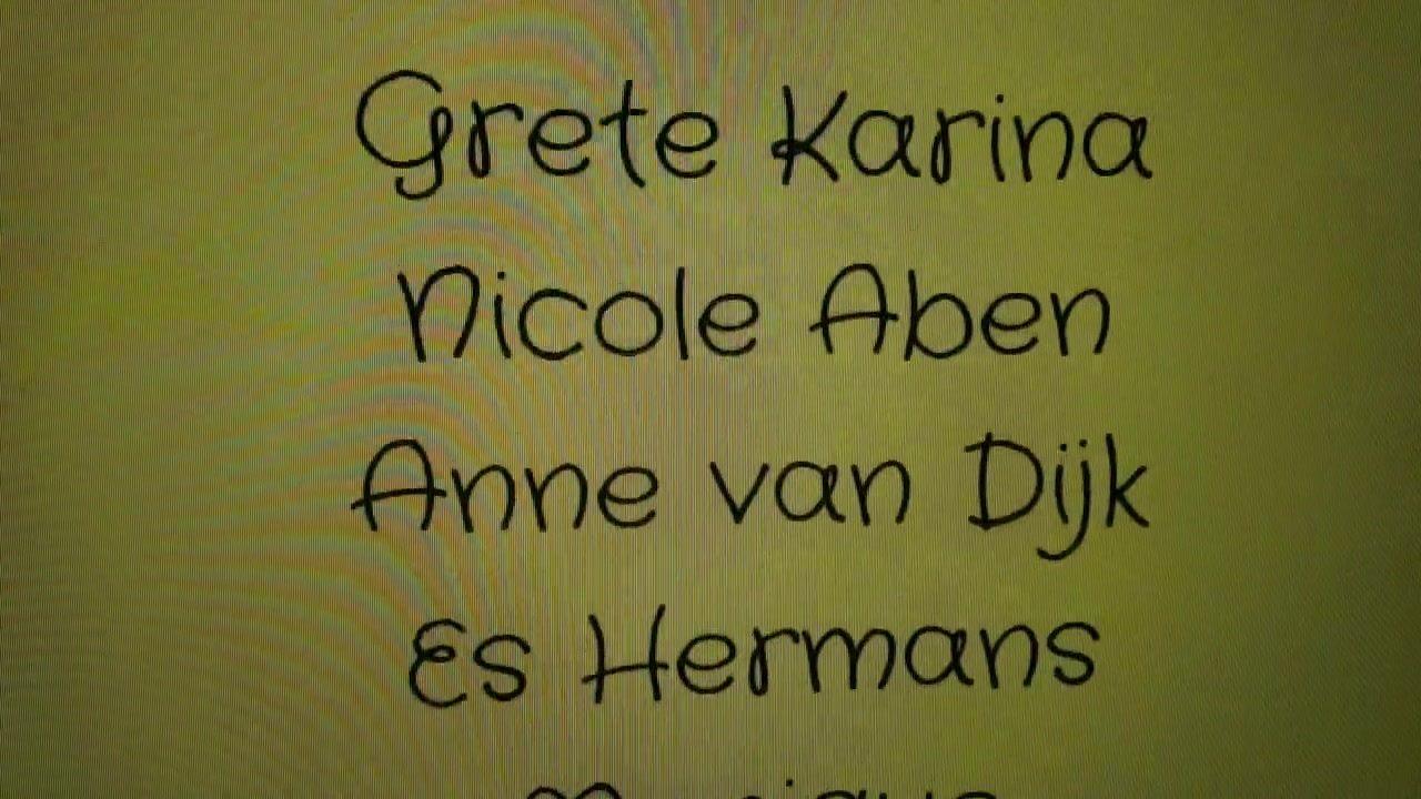 Grete Karina is de  …