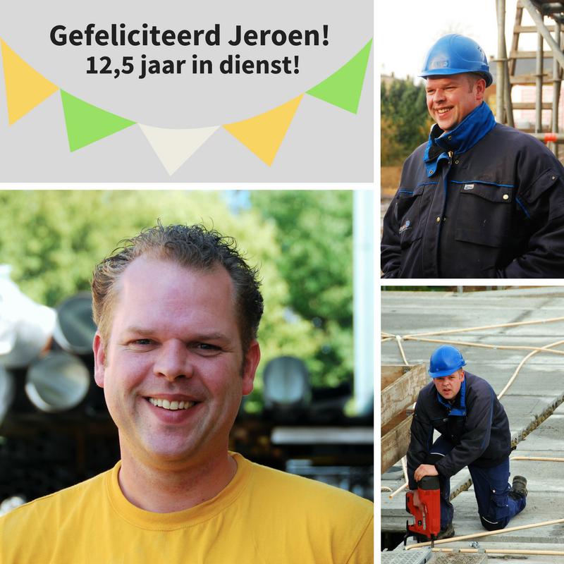 Onze medewerker Jeroen Hofmans is vandaag 12,5  …