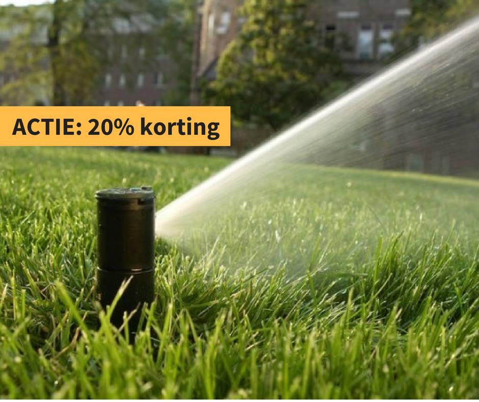 Is jouw tuin al klaar voor droge periodes? Wij  …