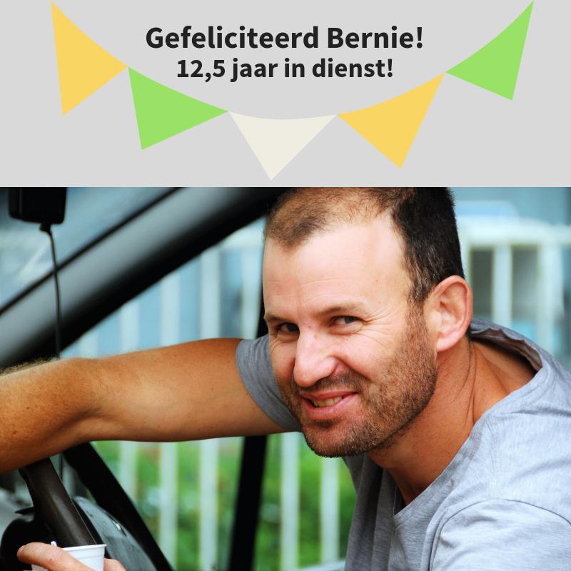 Vandaag feliciteren we Bernie Kuenen met zijn 12,5 …