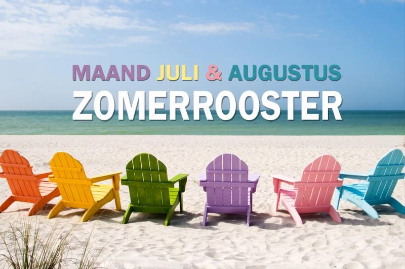 Ons zomerrooster