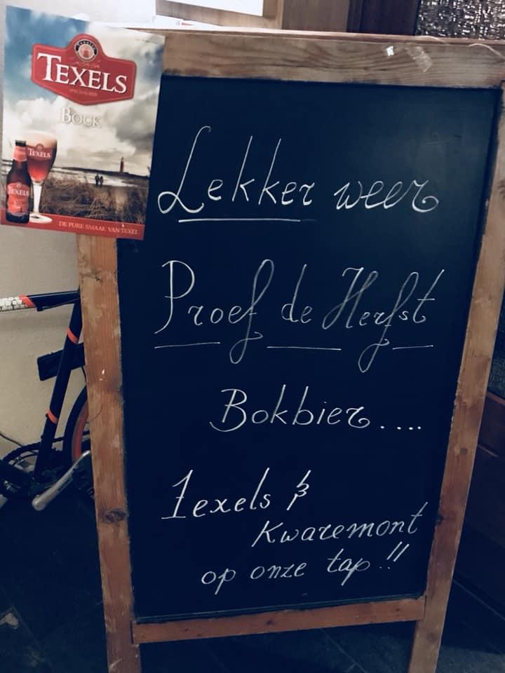 Texels bokbier of  …