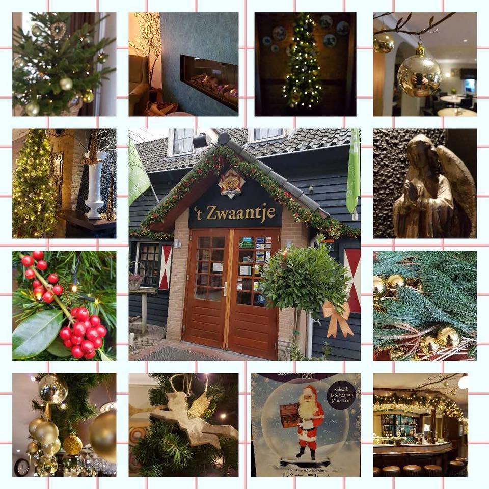 Kerst staat voor de deur …