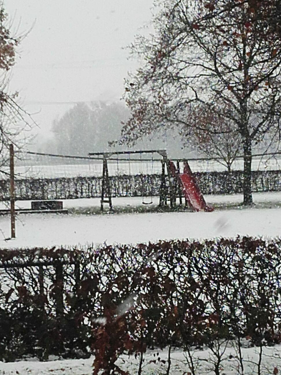 Sneeuw op het wisbroek