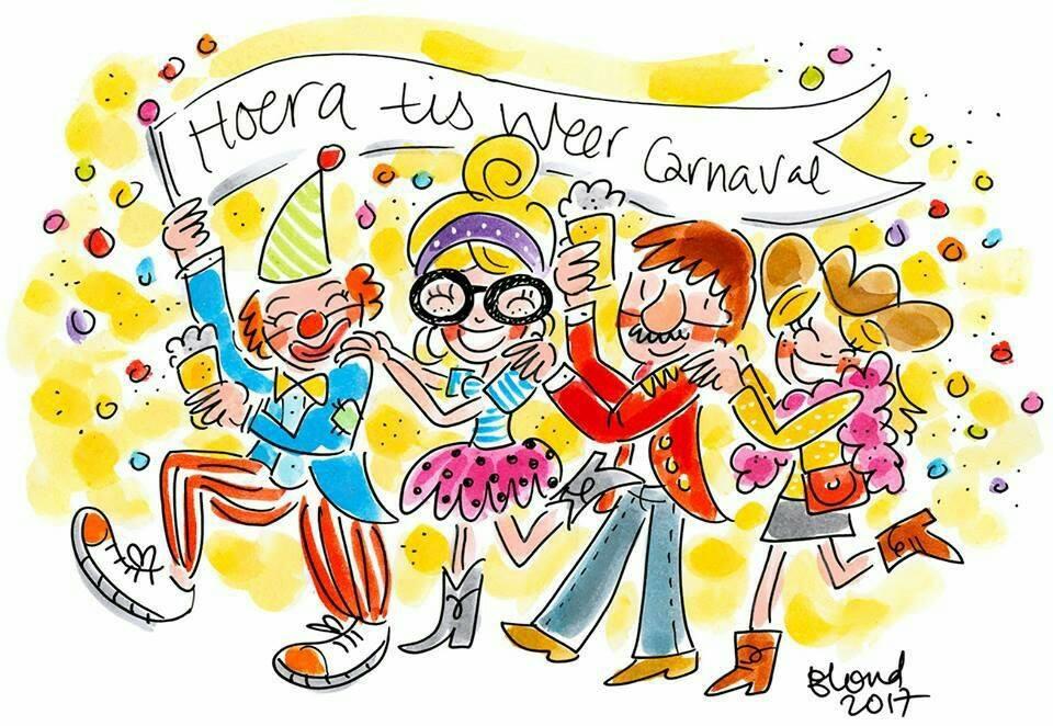 Fijne carnaval …