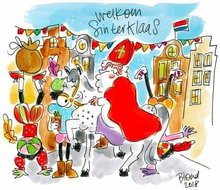Welkom Sinterklaas en  …