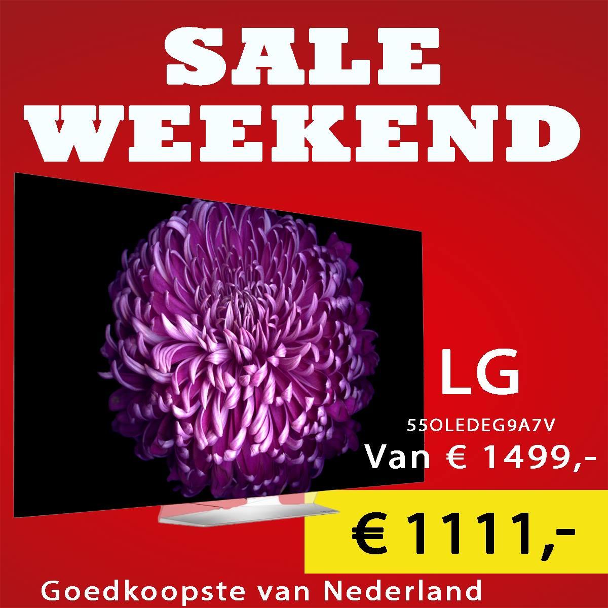 Sale weekend bij Jan  …