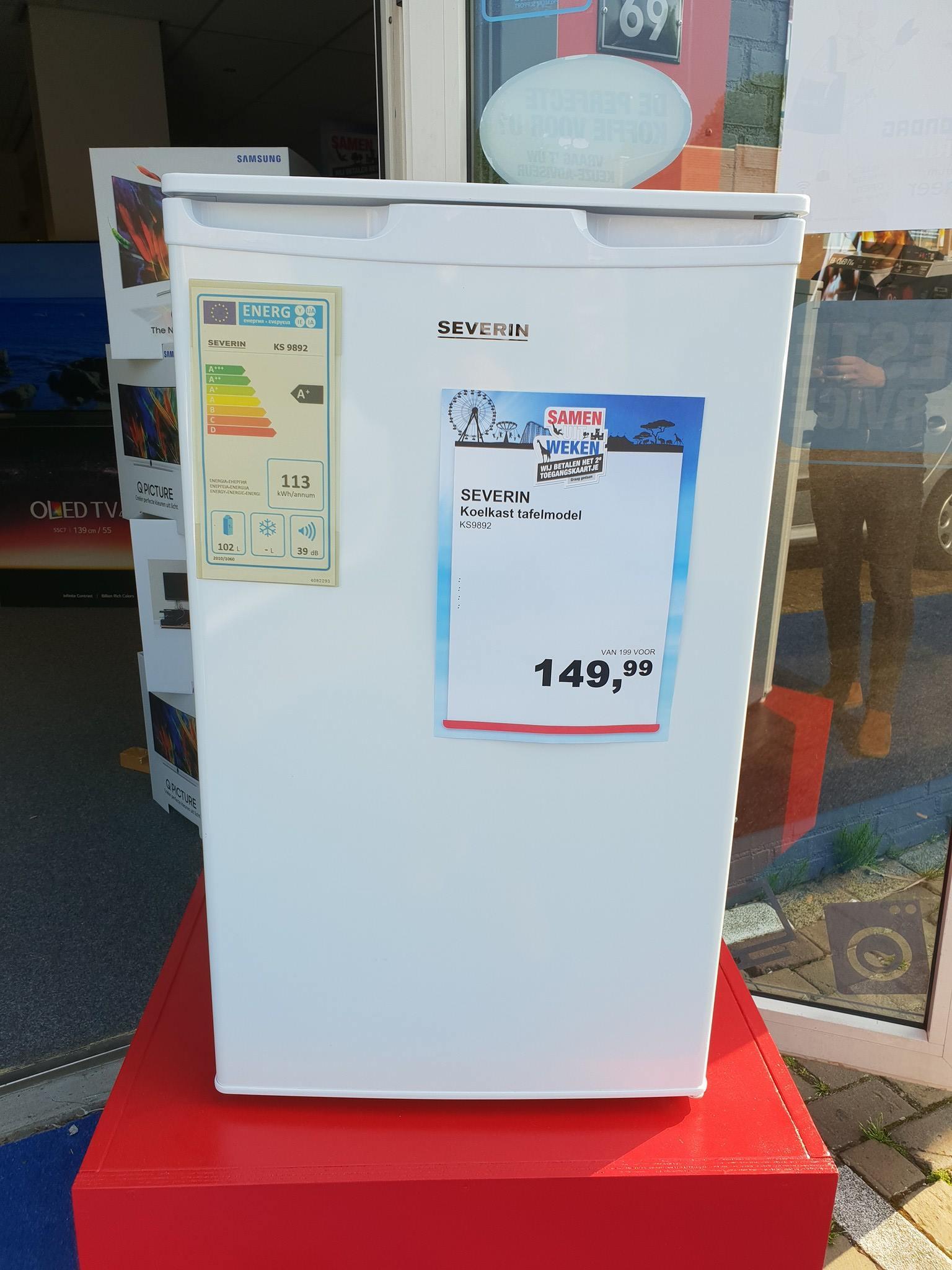 Op zoek naar een koelkast …