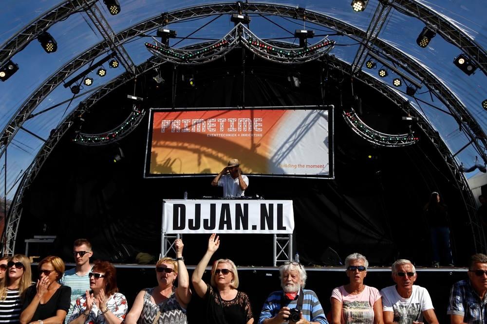 Ook dit jaar is DJ Jan  …