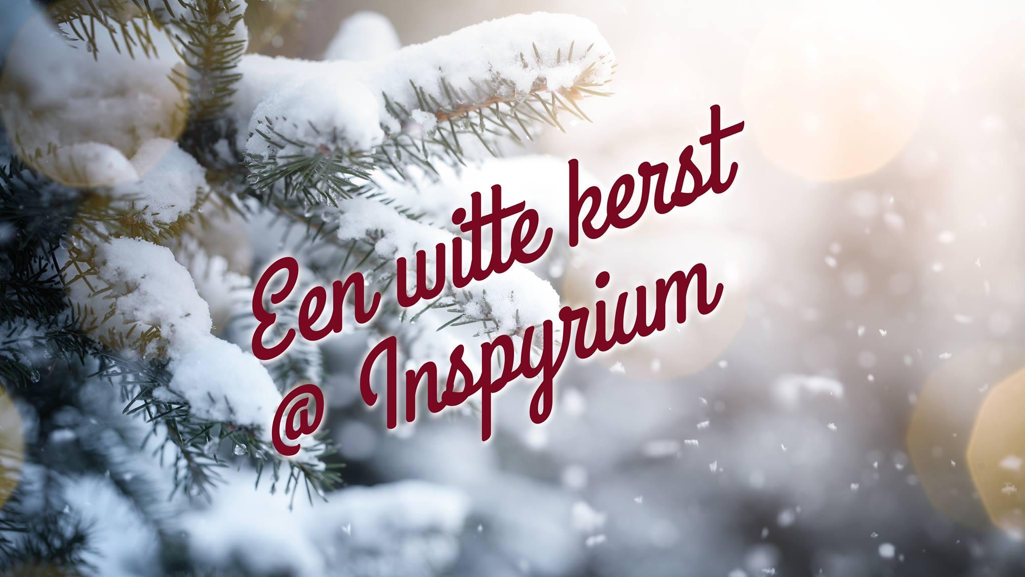 Vier jij een witte kerst  …
