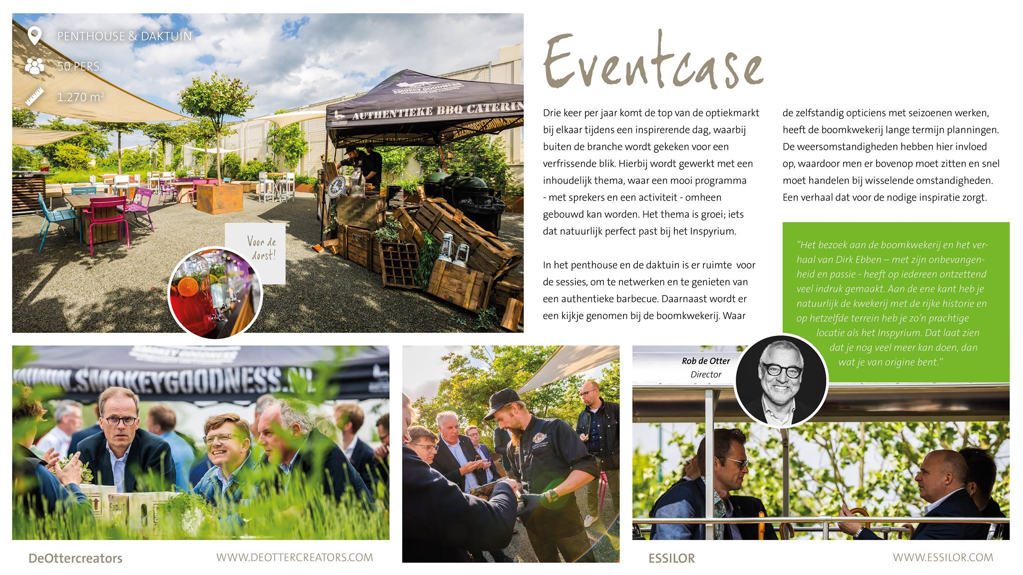 In de Eventcases nemen we …